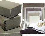 View our range of acid-free archival storage boxes