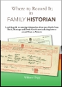 Where to Record It: In Family Historian v6