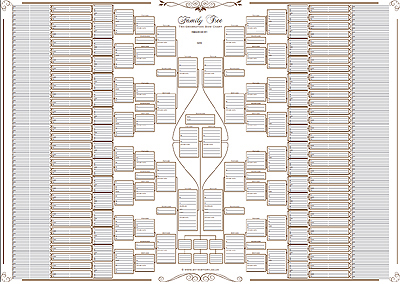 photo regarding Free Printable 10 Generation Pedigree Chart known as 12 creation pedigree chart -