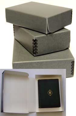 Acid Free Archival Storage Boxes And Envelopes For Books