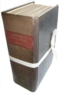 Post Office Directory of London 1845