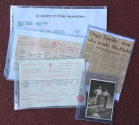 Full Range of Archive Quality Acid-Free Pockets and Card