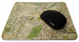 Personalised Mouse Mat - Old Map