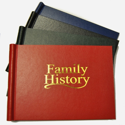 A3 Family History Binder