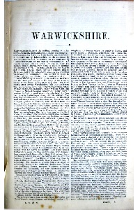Kelly's Directory of Warwickshire 1888 on CD