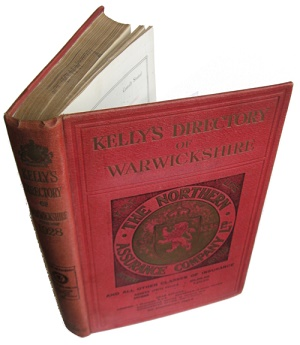 Kelly's 1928 Directory of Warwickshire