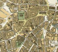 Bacons Large Scale Plan of Sheffield Circa 1925