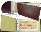 * Deal of the week * 30% off Leather Certificate Binders